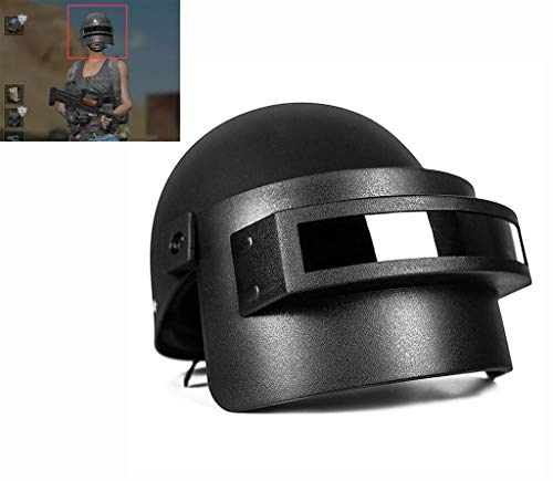 XIAOD Pubg 3-Class Helmet Game Cool Role-Playing, A Unique Role-Playing Prop Helmet Game Role-Playing Game, Winner Chicken Dinner