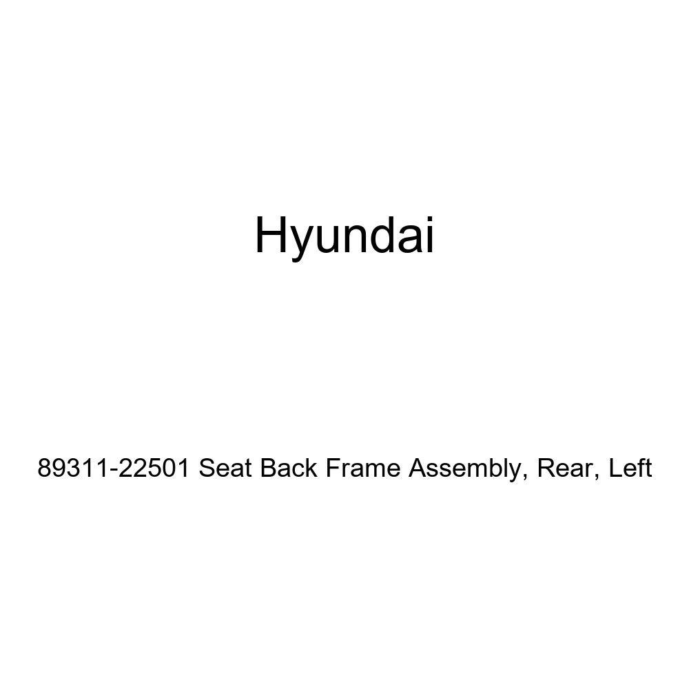 Rear Left Genuine Hyundai 89311-22501 Seat Back Frame Assembly