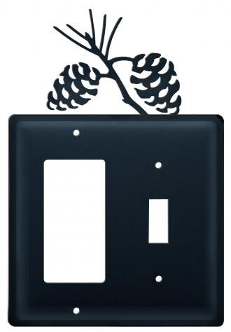 EGS-89 Pinecone GFI Switch Electric Cover ()