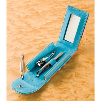 Manicure Set With Mirror