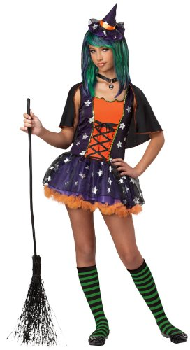 Girls Twilight Witch Costumes (Strangeling Twilight Witch Tween Costume)