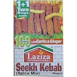 Laziza Seekh Kebab Masala 3.52oz (100g) 1-Pk (Halal)
