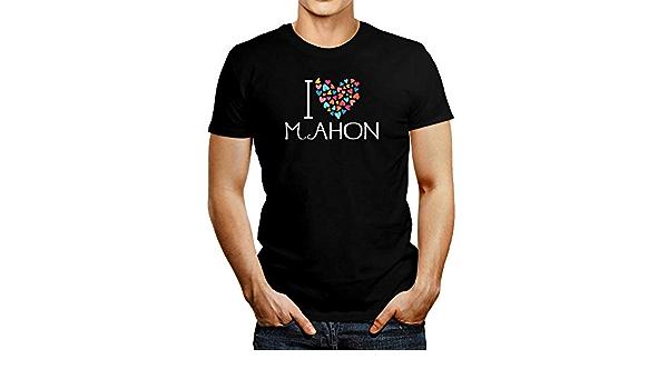 Idakoos I Love Mahon - Camiseta de corazones coloridos ...