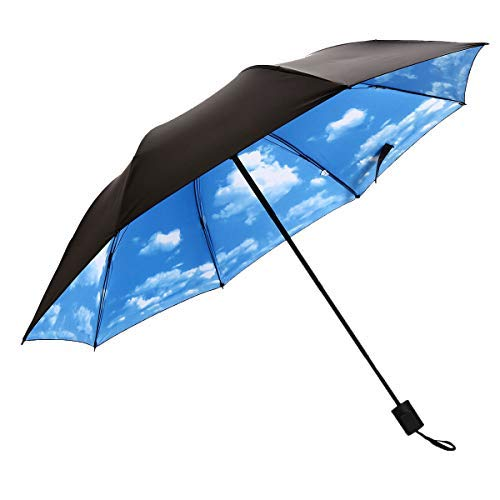 J&B Compact Travel Umbrella for Women Vinyl Anti-UV for sale  Delivered anywhere in Canada