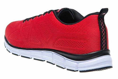 Boras - Zapatillas para mujer rojo rojo, negro