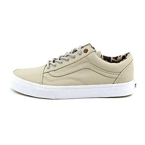 Bestelwagen Oud Skool Heren Unisex Sneakers Schoenen Taupe