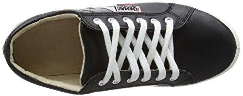 Unisex Kawasaki Zapatillas de Leather Deporte Slam Black FwawX