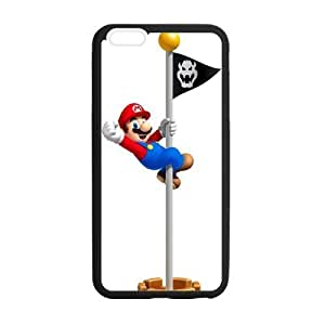 iphone 4 4s Case, [Super Mario] iphone 4 4s Case Custom Durable Case Cover for iPhone6 TPU case(Laser Technology)