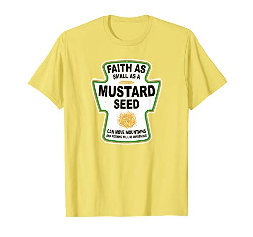 - Grunge Christian Seed of Mustard Faith Jesus Shirt