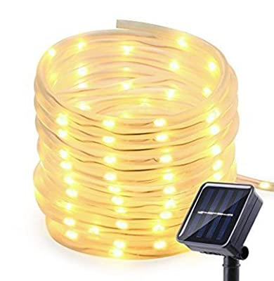 240 LED String Solar Lights, JML 85ft Super Long String and 8 Modes Solar Decor Powered Lights for Christmas, Garden, Wedding, Party, Dancing(Warm White)