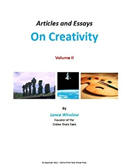 essay on creativity and innovation With so much at stake for an organisation, it seems obvious that innovation is not  an optional extra rather, creating an innovative environment.