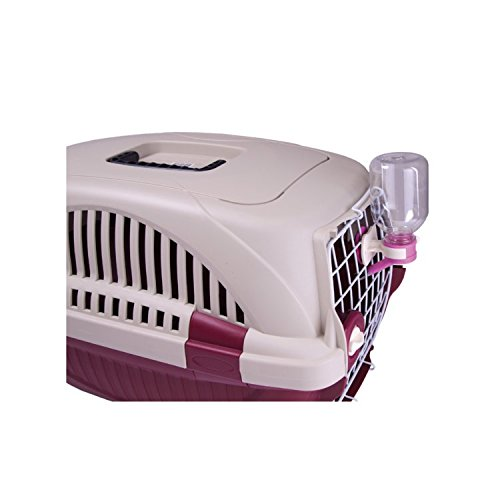 Choco Nose H165 19.8 Inch, Double Locked Durable Pet Carrier, Travel Pet Crate, Pet Kennel, for Pets Under 12 Lb, Mini to Small-sized Dog, Cat, Rabbit, Chinchilla (Blue)