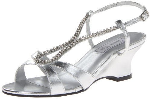Sandal Regina Metallic Silver Silver Wedge Ups Women Touch wzxaAfqSI