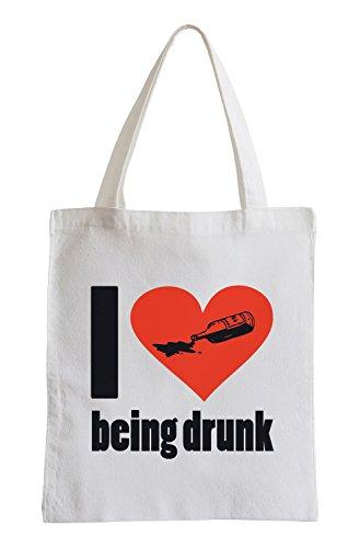 Mi piace essere ubriaco Fun sacchetto di iuta Footlocker Fotos Precio Barato gCmfSFVu
