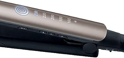 Remington S8590 Keratin Therapy Pro - Plancha de Pelo Profesional, Cerámica, Digital, Keratina, Aceite Almendras, Color Bronce: Amazon.es: Salud y cuidado personal