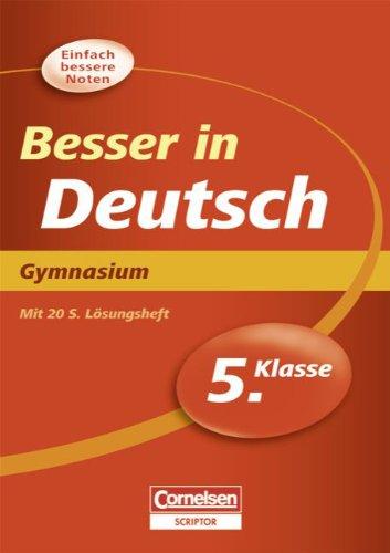 besser-in-der-sekundarstufe-i-deutsch-gymnasium-5-schuljahr-bungsbuch-mit-separatem-lsungsheft-20-s