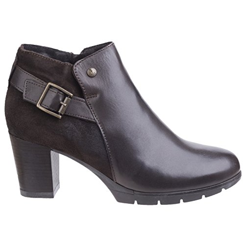 Hush Puppies Womens/Ladies Rocki Nolive Zip-Up Leather Casual Boots Brown