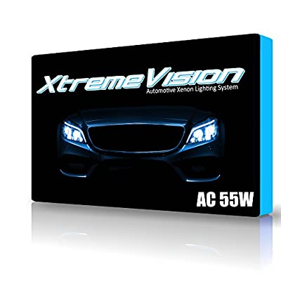 XtremeVision® AC 55W HID Xenon Conversion Kit with Premium Slim Ballast