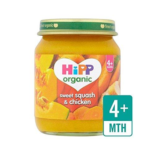 Hipp Orgánica Dulce De Calabaza Y Pollo 125G - Paquete de 4: Amazon.es: Alimentación y bebidas