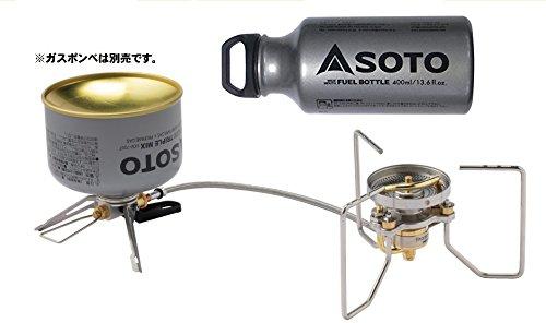SOTO ストームブレーカー SOD-372+広口ボトル 400ml SOD-700-04 B07BFYBGTM