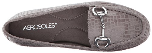 Aerosoles Mujeres Drive Through Slip-on Loafer Grey Crocodile