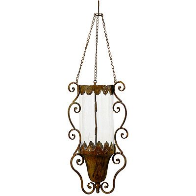 Wrought Iron Hanging Candle Holder Chandelier
