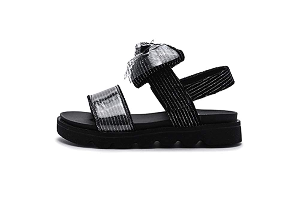 Navoku Cute Leather Bowknot Summer Skidproof Sandals for Girls