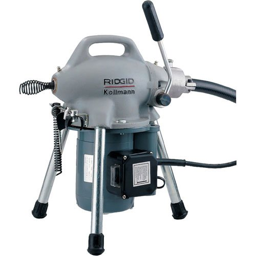 RIDGID 58920 K-50 Sectional Machine, Sectional Drain Cleaning Machine (Sectional Cable Sold Separately – Machine Only No Accessories) by Ridgid