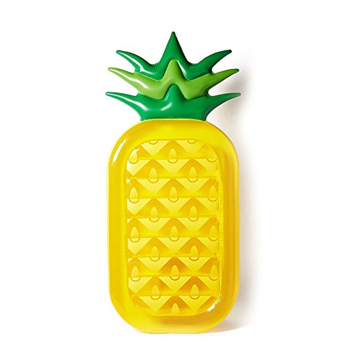 Acekid 70 inch Inflatable Pool Float Rafts Toy Floatie Lounge Pineapple 6 Feet x 3 Feet Outdoor Swimming Party Toy for Adults Kids (Pineapple)