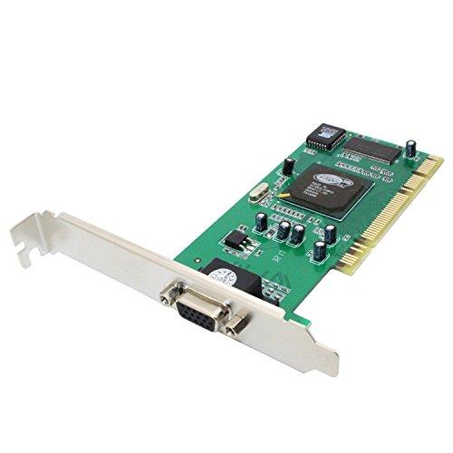 VGA Video Card,LiuTian ATI Rage XL 8MB PCI VGA Video Card CL-XL-B41(1pack) (8 Mb Pci Graphics)
