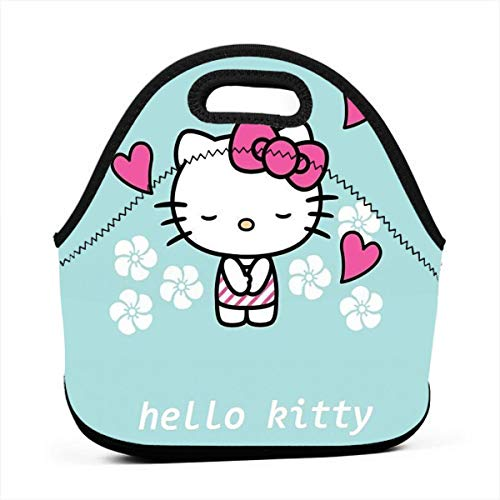LIUYAN Personalized Lunch Tote Bag Hello Kitty Fall