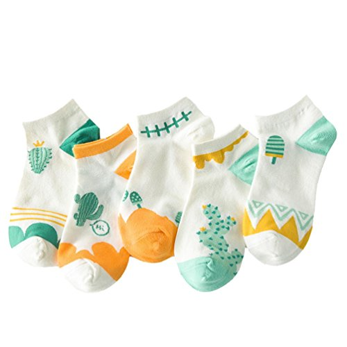 womens-5-pairs-no-show-low-cut-socks-cotton-ankle-sock-average-cartoon-cactus