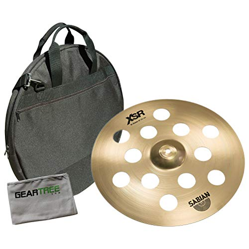 (Sabian XSR1600B 16in XSR O-Zone B20 Crash Cymbal Bundle w/Bag)