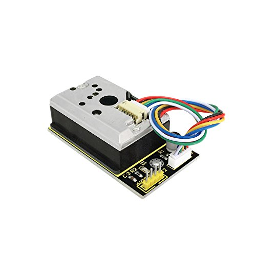 KEYESTUDIO Pm2.5 Sensor Pm2.5 Air Particle Monitor for Arduino Mega 2560 Uno R3 Nano Micro Pro Mini Raspberry Pi
