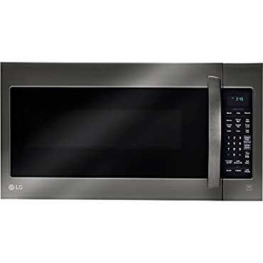 LG LMV2031BD2.0 Cu. Ft. Black Stainless Steel Over-the-Range Microwave