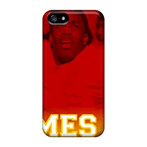 Slim Fit Tpu Protector Shock Absorbent Bumper Kansas City Chiefs Case For Iphone 5/5s