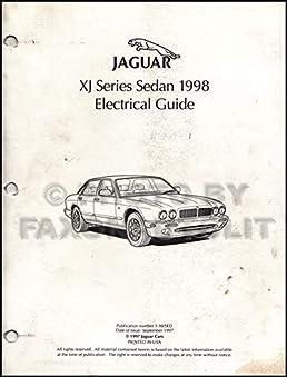 1998 jaguar xj8 electrical guide wiring diagram original jaguar