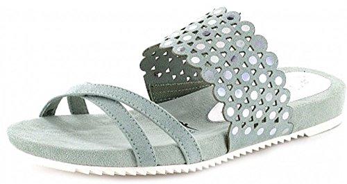 Tamaris - Zuecos para mujer gris gris 36