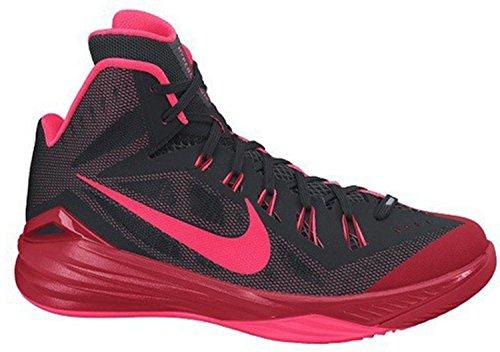 Nike Men Hyperdunk 2014 Basketball Shoes Various Colors (Black / Red (Black / Red Hyper Punch-unvrsty))
