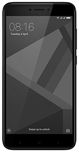 Redmi 4 (Black, 32 GB)