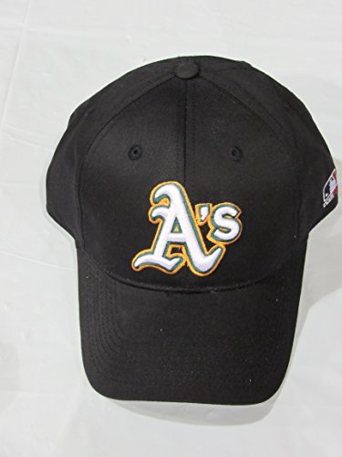 OUTDOOR CAP OAKLAND ATHLETICS BASEBALL REPLICA HAT ALTERNATE BLACK