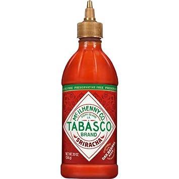 Tabasco Brand Sriracha Flavored With Oak Barrel Aged 20oz 2pack