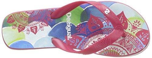 Infradito Rosa Donna Fresa rose Sandali New Desigual61hs5h6 3087 pq5Tan
