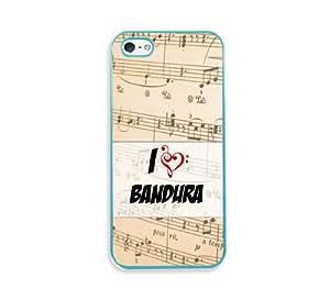 Bandura Aqua Silicon Bumper iPhone 5 & 5S Case - Fits iPhone 5 & 5S