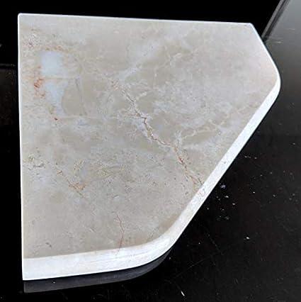 Amazon com: New! - Shower Marble Corner Shelf - 8