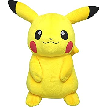 "Sanei Pokemon All Star Collection PP16 Pikachu Stuffed Plush, 13""/Medium"