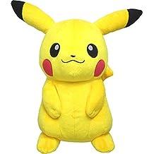 Sanei Pokemon All Star Collection-PP16-Medium Pikachu 13-Inch Stuffed Plush