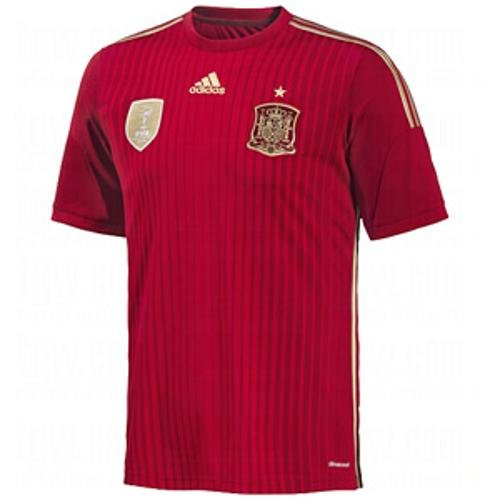 Adidas Spain World Cup - Adidas Spain Home Jersey World Cup 2014