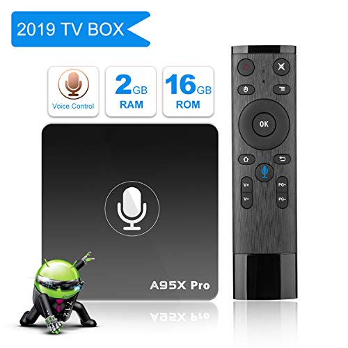[2G+16G/Voice Remote Control] YAGALA Android 7 1 2 TV Box with 64 Bits Quad  Core ARM Cortex-A53 CPU and Supporting 4K (60Hz) Full HD/H 265 /WiFi