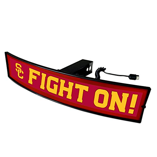 Fanmats NCAA USC Trojans 20080 Light Up Hitch Cover, One Size, Team Colors by Fanmats